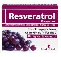 Resveratrol Natysal Extracto de pepita de uva con un 95% de Polifenoles