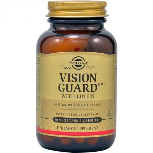Vision guard Solgar, mantiene una visión ocular saludable
