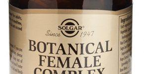 Botanical Female Complex de Solgar ayuda y mejora la salud durante la menopausia.