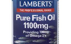 Aceite de pescado puro 1.100mg (EPA 360 mg / DHA 240mg) de Lamberts