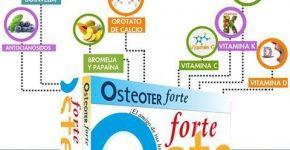 Osteoter forte de Tegor complemento para el cuidado de articulaciones
