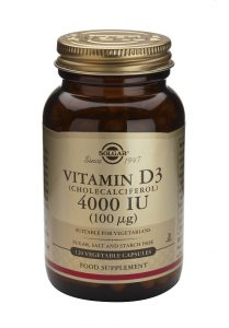 Vitamina D3 (Colecalciferol) de Solgar mantiene tus huesos y dientes