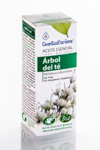Aceite esencial de árbol del té de Esential Aroms, cuida tu piel