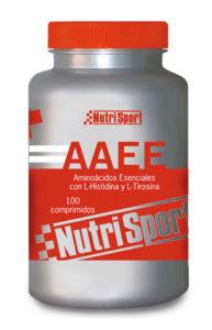 Aminoácidos esenciales de Nutrisport en comprimidos