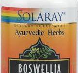 Boswelia de Solaray para el cuidado de las articulaciones y artritis