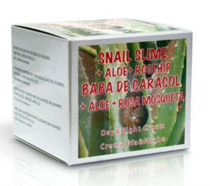 Crema de Baba caracol con aloe vera de Nueva Dietética