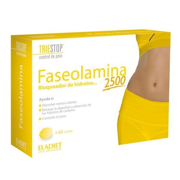 Faseolamina de Eladiet 2500 ayuda a absorber menos calorías
