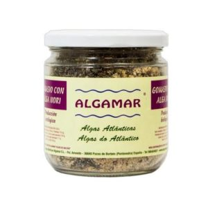 Gomasio con alga nori de Algamar, sustituto a la sal en tus comidas