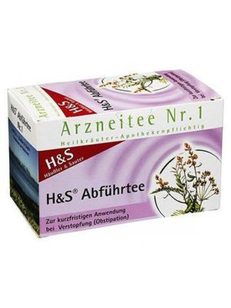 Infusión alemana laxante Nº 1 de H&S ayuda a mejorar el tránsito intestinal