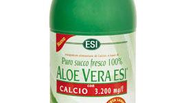 Zumo de aloe vera de ESI con calcio y fósforo para el tratamiento de la fragilidad ósea