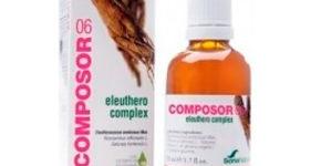 Composor 06 eleuthero complex con eleuterococo contribuye aumentar la capacidad defensiva del organismo