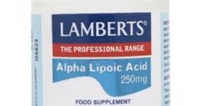 Acido alfa lipoico de Lamberts capta los radicales libres
