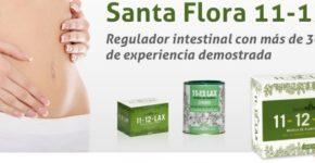 11 - 12 lax de Santa Flora - 40 comprimidos masticables de Santa Flora