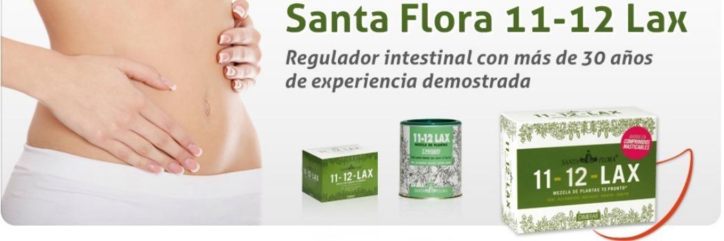 11 - 12 lax de Santa Flora - 40 comprimidos masticables