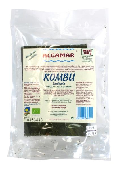 Alga kombu de Algamar, reblandece tus legumbres y es saciante
