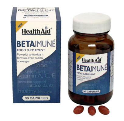Betainmune de Health Aid mejora sistema inmune y aporta antioxidantes a tu dieta