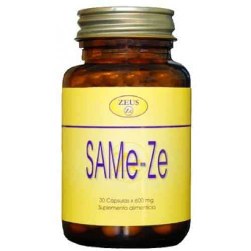 Same-ZE de Zeus es un alimento complementario ideal para personas afectadas por depresión, fibromialgia y detoxificación hepática.