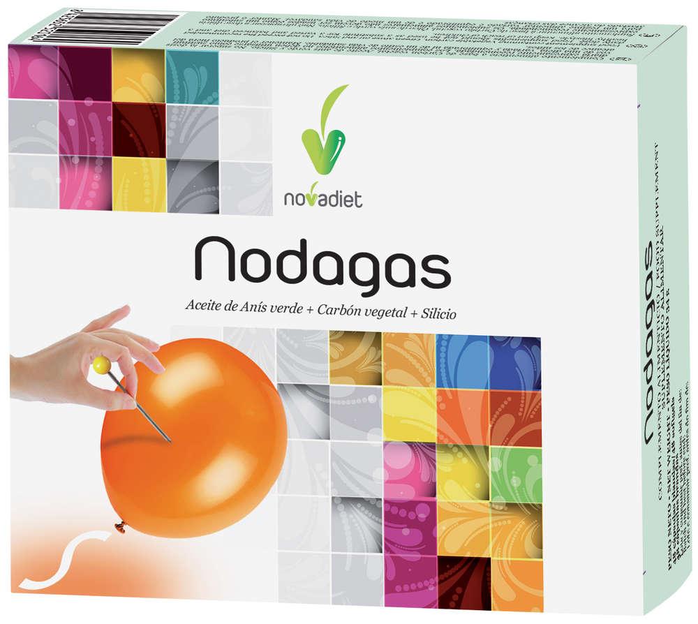 Nodagas de Novadiet, favorece la eliminación de gases