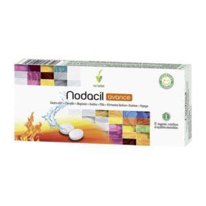 Nodacil Advance en comprimidos de nova diet está indicado para contrarrestar la acidez estomacal, gastritis y malas digestiones.