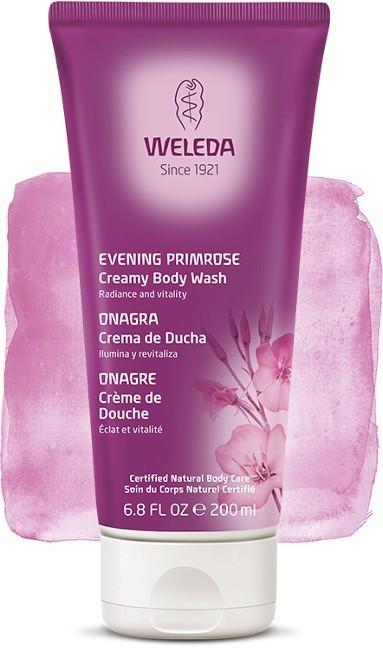 Crema de Ducha de Onagra Weleda corporal revitalizante, cuida tu piel