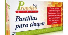 Propóleoter de Tegor pastillas para chupar que cuidan tu garganta