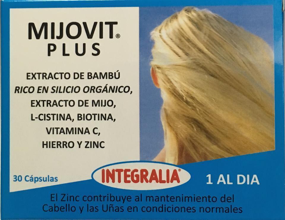 Mijovit Plus de Integralia, cuida tu cabello y uñas