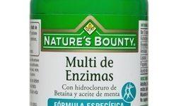 Multi de Enzimas con Betaína y Aceite de Menta de Nature's Bounty