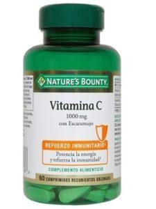 Vitamina C con escaramujo de Nature's Bounty refuerza el sistema inmunitario