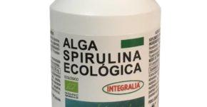 Alga Spirulina Ecológica 100 cápsulas de Integralia