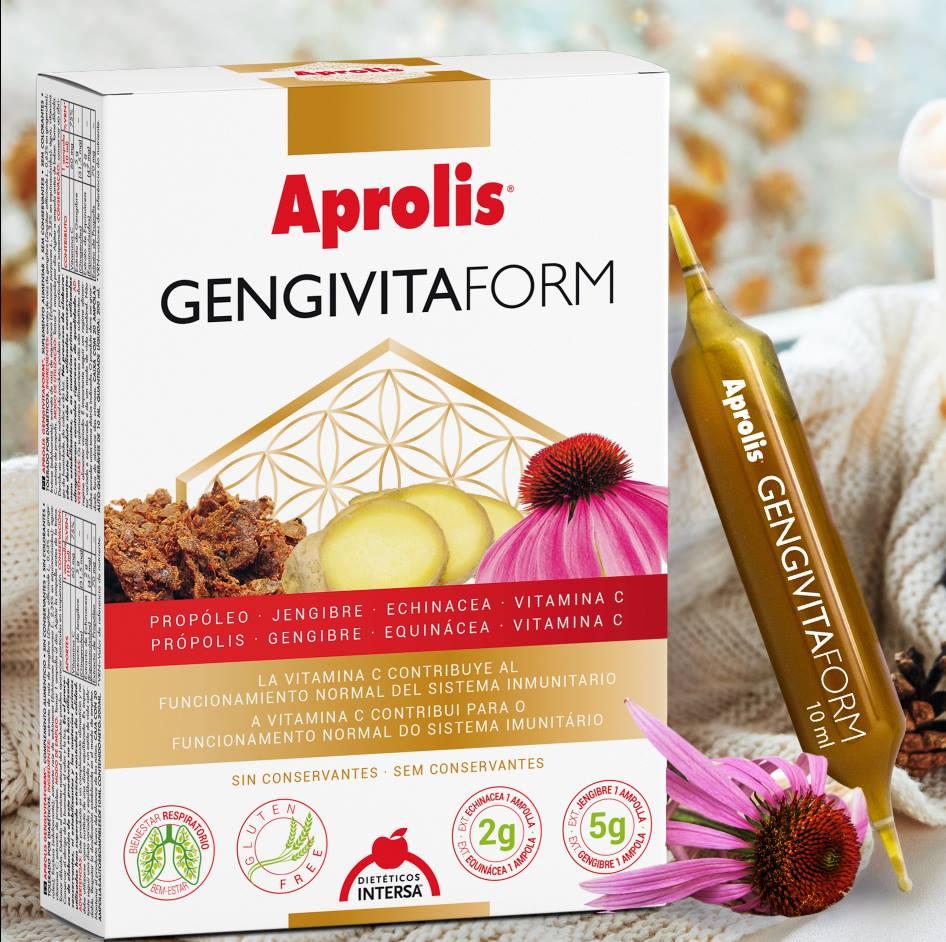 Aprolis GENGIVITAFORM 20 ampollas de Dietéticos Intersa de venta en nuestra tienda online