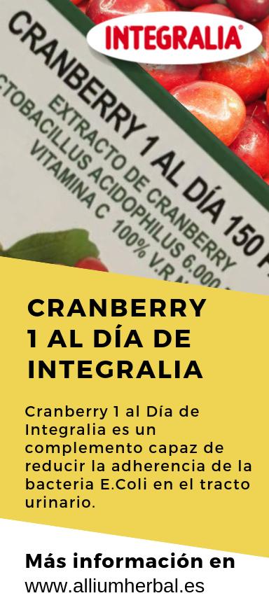 Más información o comprar Cranberry de Integralia