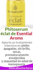 Phytoserum éclat serum facial de Esential Aroms revitaliza tu piel
