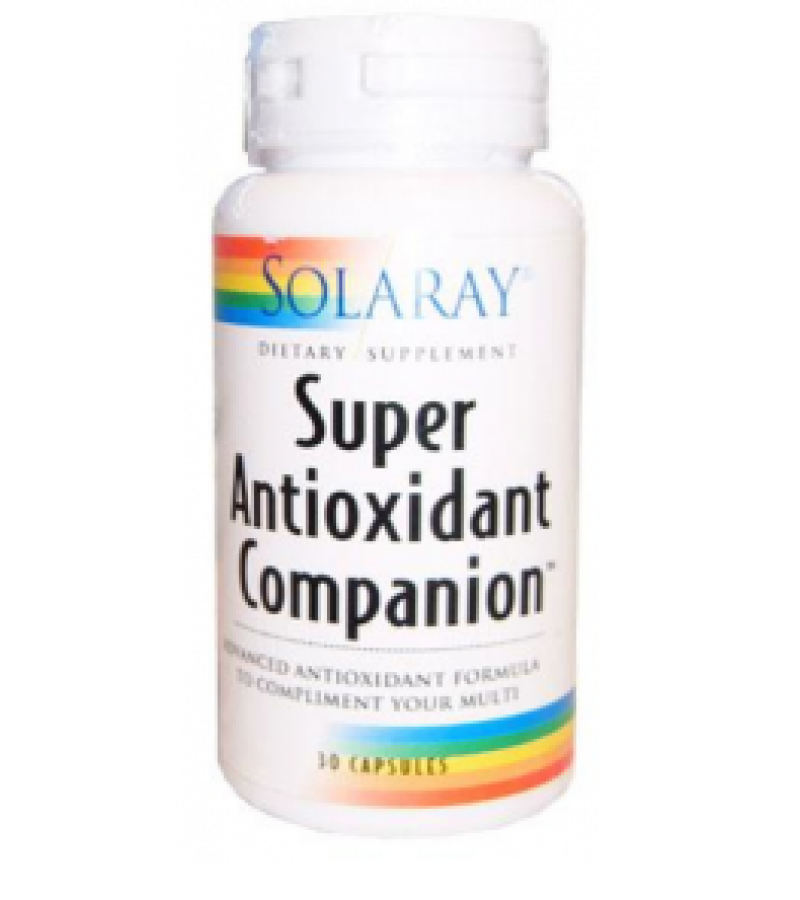 Super antioxidant companion 30 cápsulas de Solaray de venta en nuestra tienda online