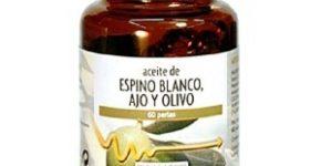 Aceite espino blanco, ajo y olivo 60 perlas de Tongil