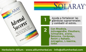 Adrenal success 60 cápsulas de Solaray