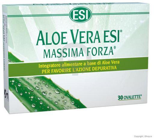 Aloe vera máxima fuerza 30 tabletas de ESI