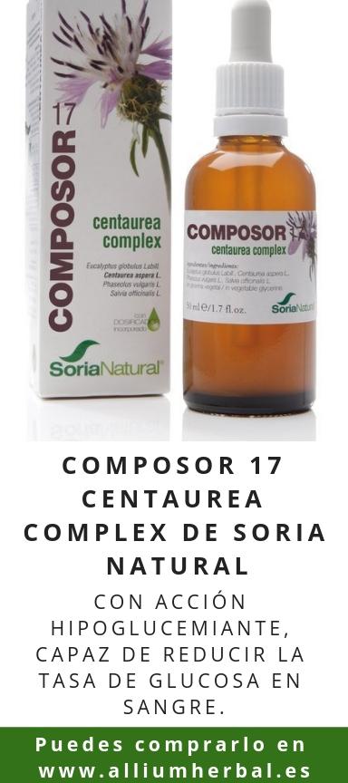 Composor 17 Centaurea Complex de Soria Natural
