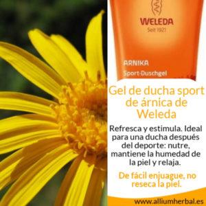 Comprar Gel de ducha sport de árnica 200 ml de Weleda
