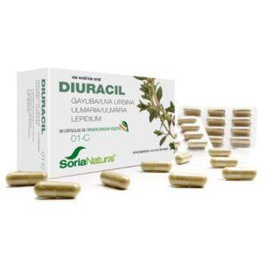 1-C Diuracil de Soria Natural tratamiento de infecciones urinarias