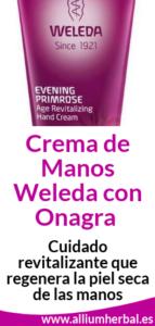 Crema de manos de onagra de Weleda 50 ml