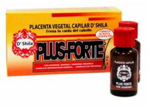 Placenta capilar vegetal plus forte 4x25 ml de D´Shila