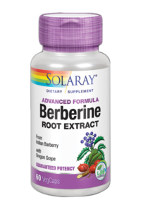 Extracto de Berberina de Solaray reequilibra las tasas circulantes de insulina