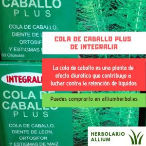 Cola de caballo plus 60 cápsulas de Integralia