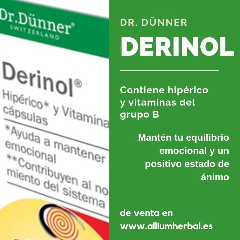 Derinol 40 cápsulas de Dr. Dünner