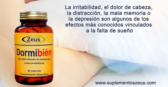 Dormibién de Zeus te ayuda en los trastornos del sueño