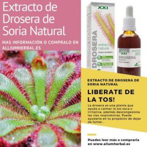 Extracto de drosera S.XXI 50 ml de Soria Natural
