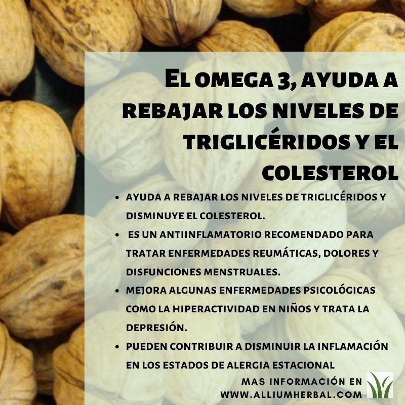 Propiedades del omega 3