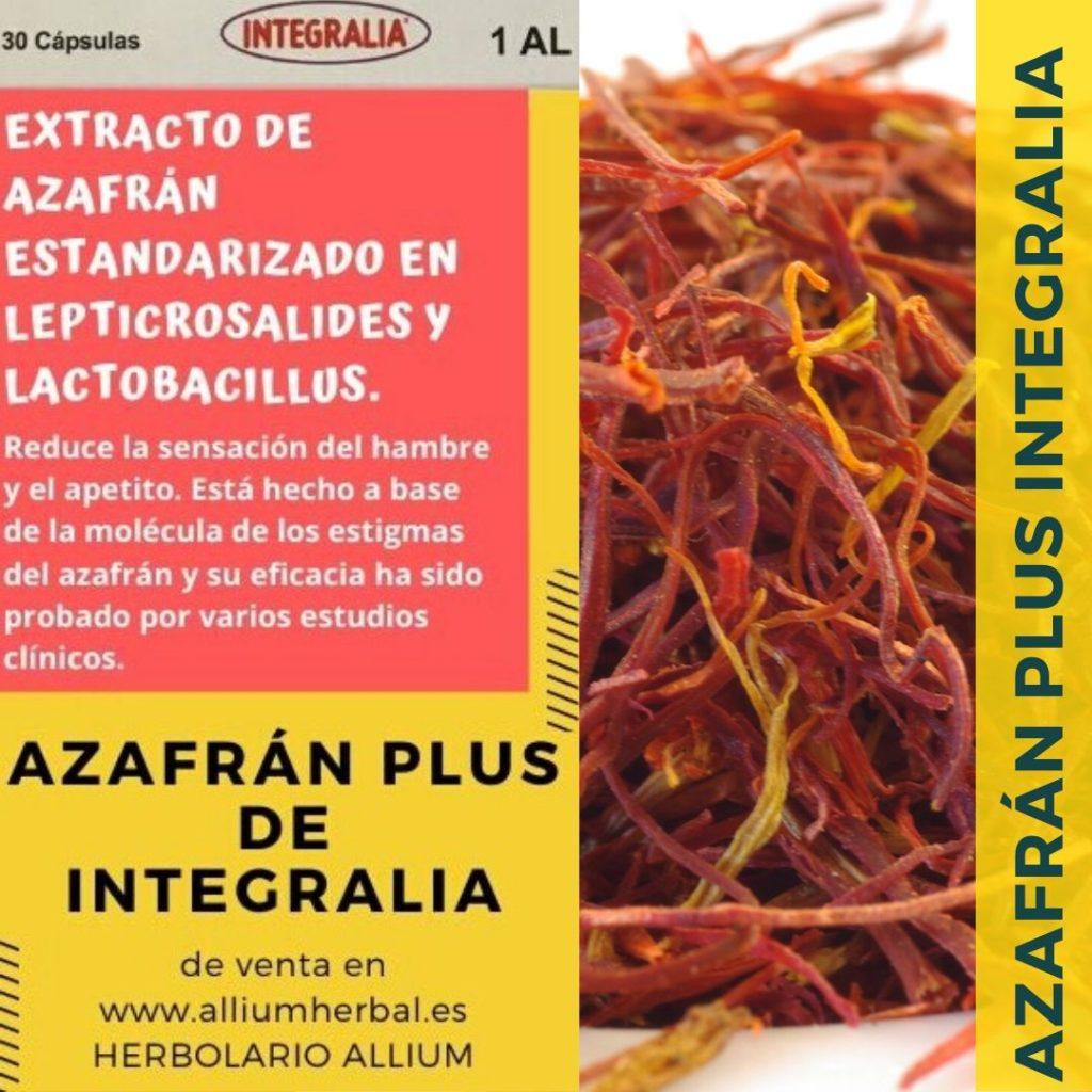 Azafran Plus de integralia 30 cápsulas