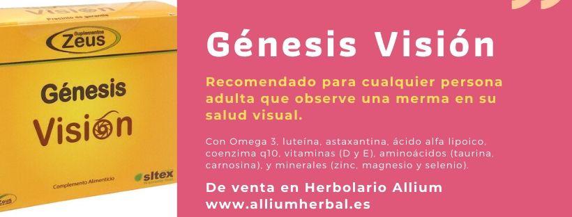 Génesis Visión está recomendado para cualquier persona adulta que observe una merma en su salud visual.