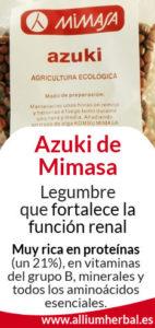 Azuki, propiedades